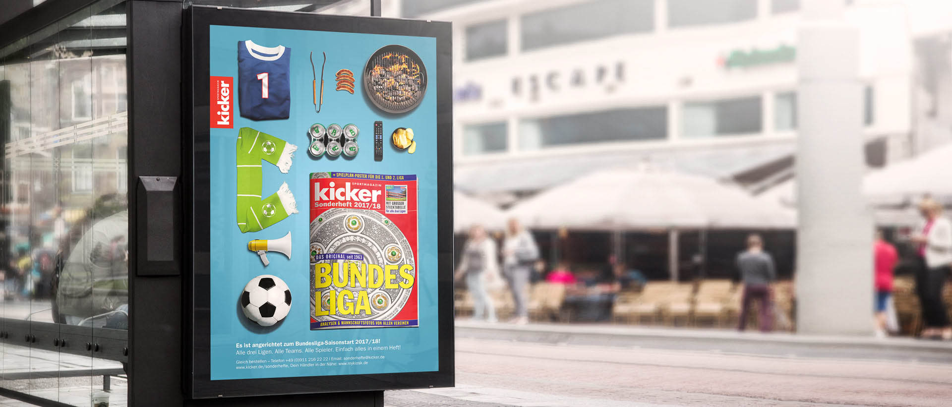 REINGOLD Außenwerbung - Out of home-Kampagne für den kicker