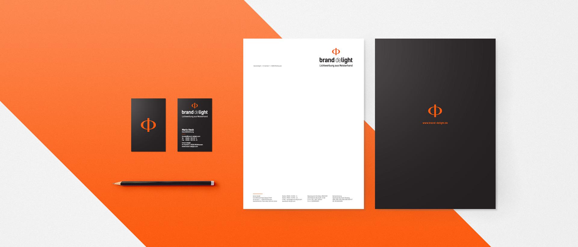 Für das Lichtwerbung-Startup Brand Delight konzipierte und realisierte REINGOLD das Corporate Design und den kompletten Markenauftritt.