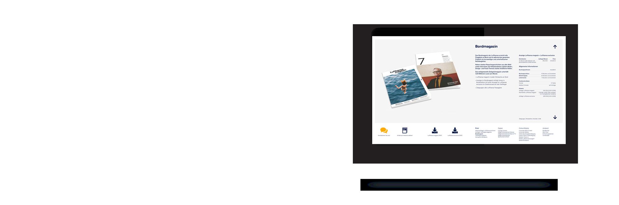 Für Lufthansa Ambient Media konzipiert und realisiert REINGOLD die komplette Werbung.