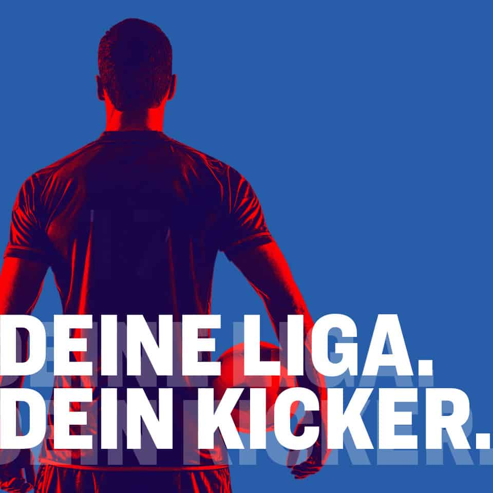 kicker wird von REINGOLD kreativ und technisch beraten und unterstützt.