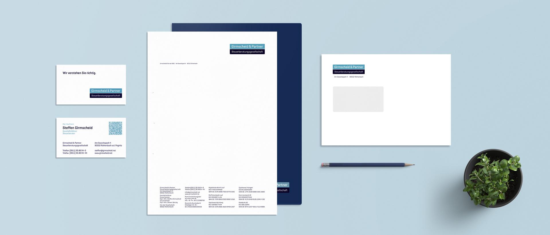 Für Girmscheid & Partner konzipiert und realisiert REINGOLD den kompletten Werbeauftritt.