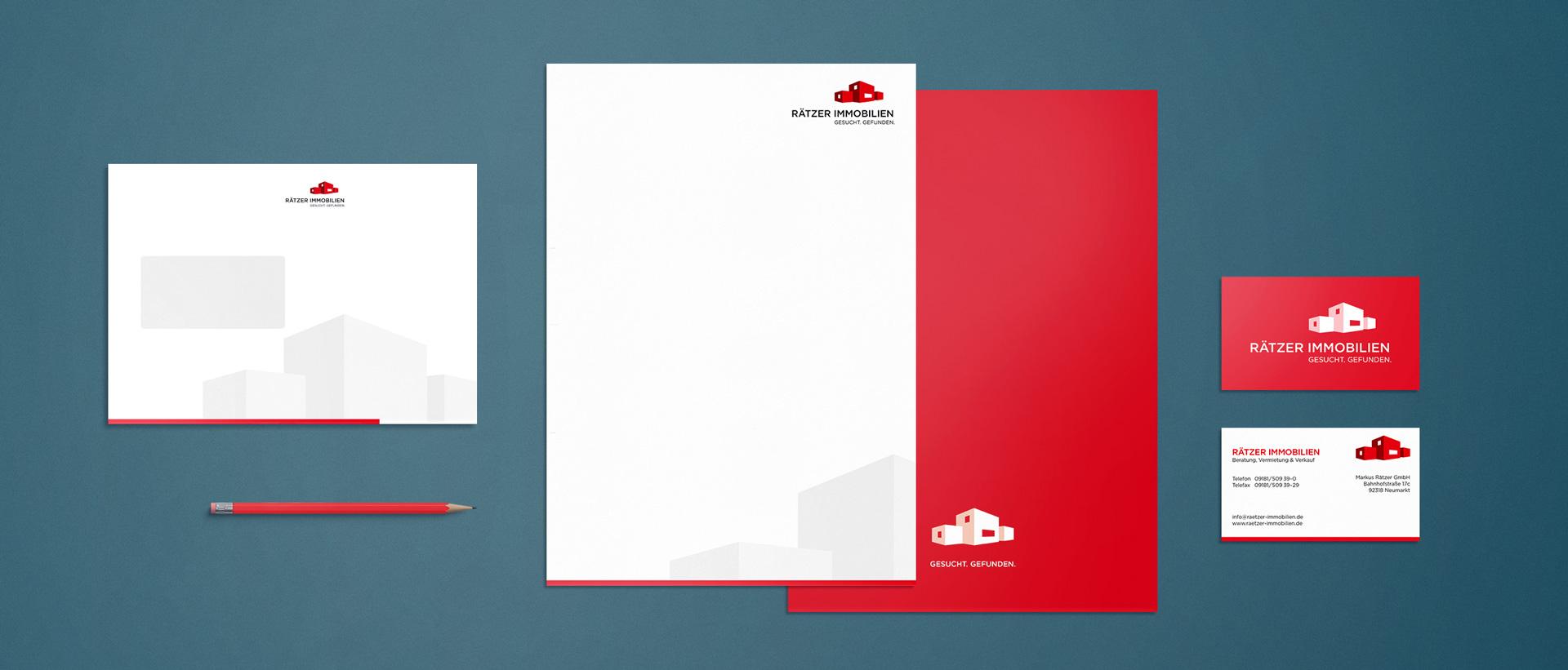 Für Rätzer Immobilien konzipiert und realisiert REINGOLD den kompletten Werbeauftritt.
