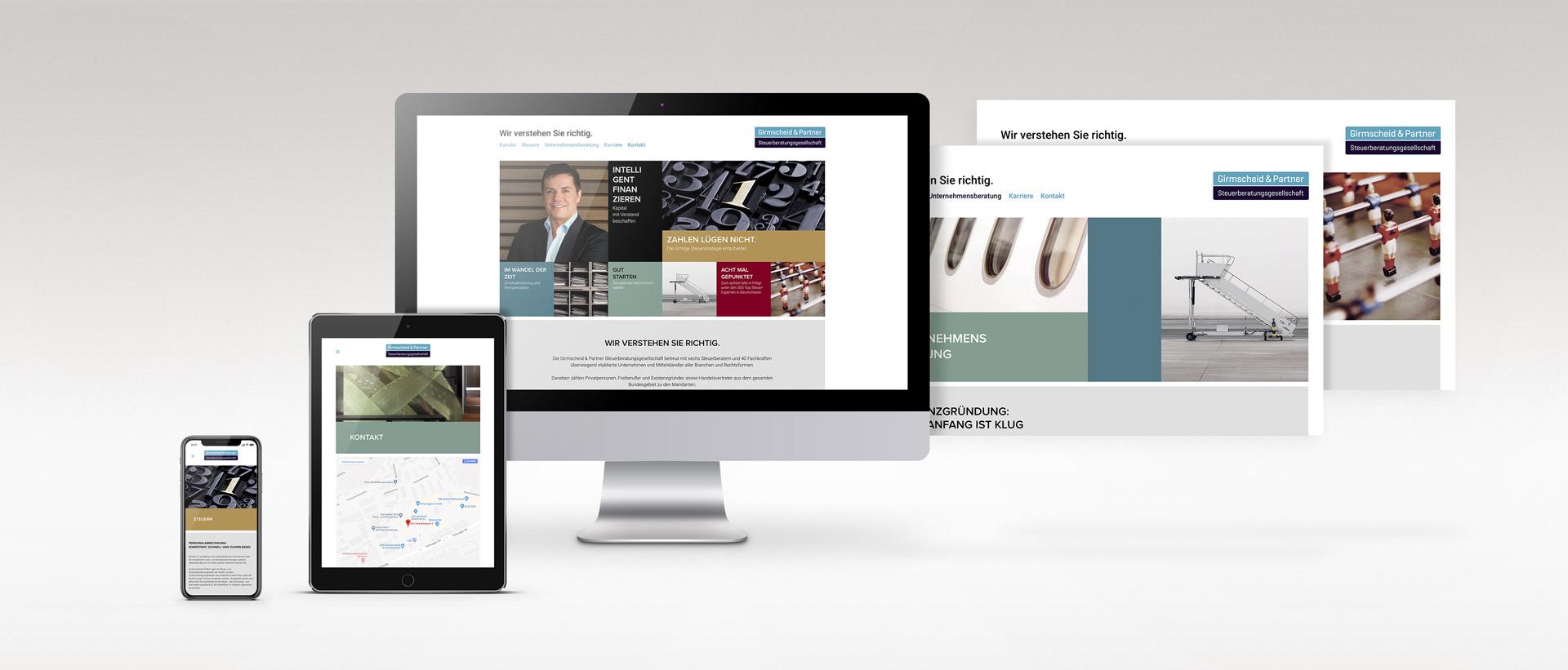 Für Girmscheid & Partner Inclusify AG konzipiert und realisiert REINGOLD die komplette Werbung.
