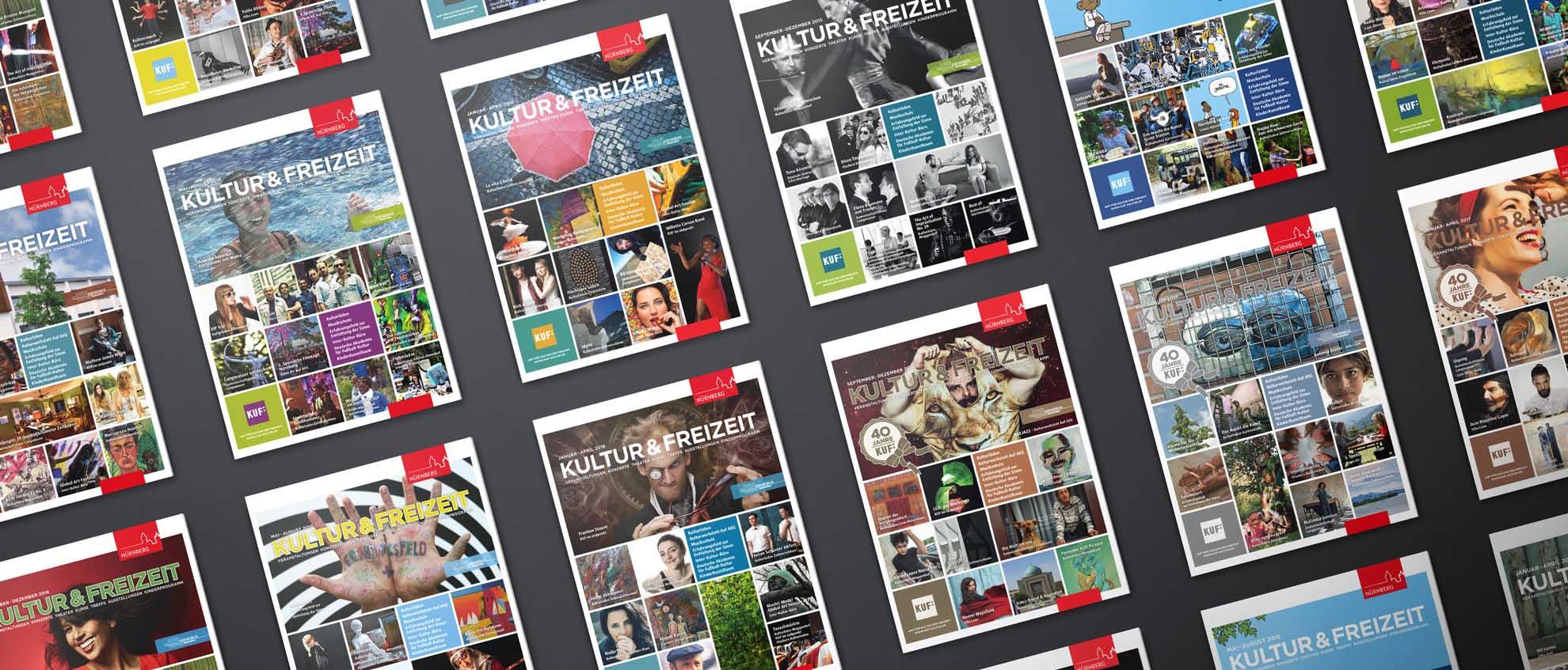 Für das Amt für Kultur & Freizeit der Stadt Nürnberg konzipiert und realisiert REINGOLD das KUF-Magazin.