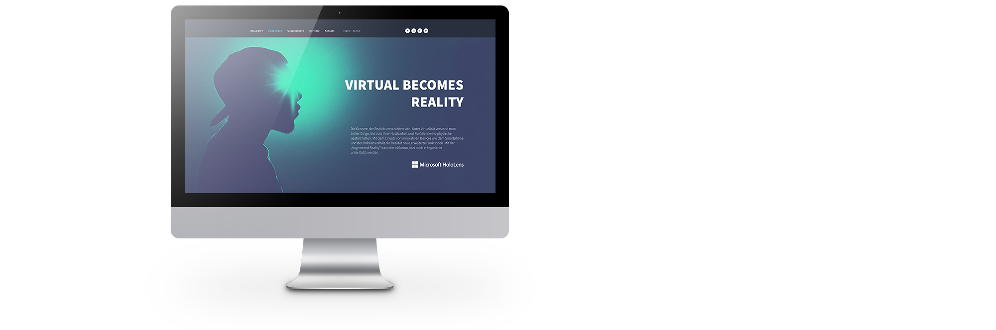 Für die Inclusify AG konzipierte und realisierte REINGOLD das komplette Startup Branding – inklusive Corporate Identity, Website und Geschäftsausstattung.