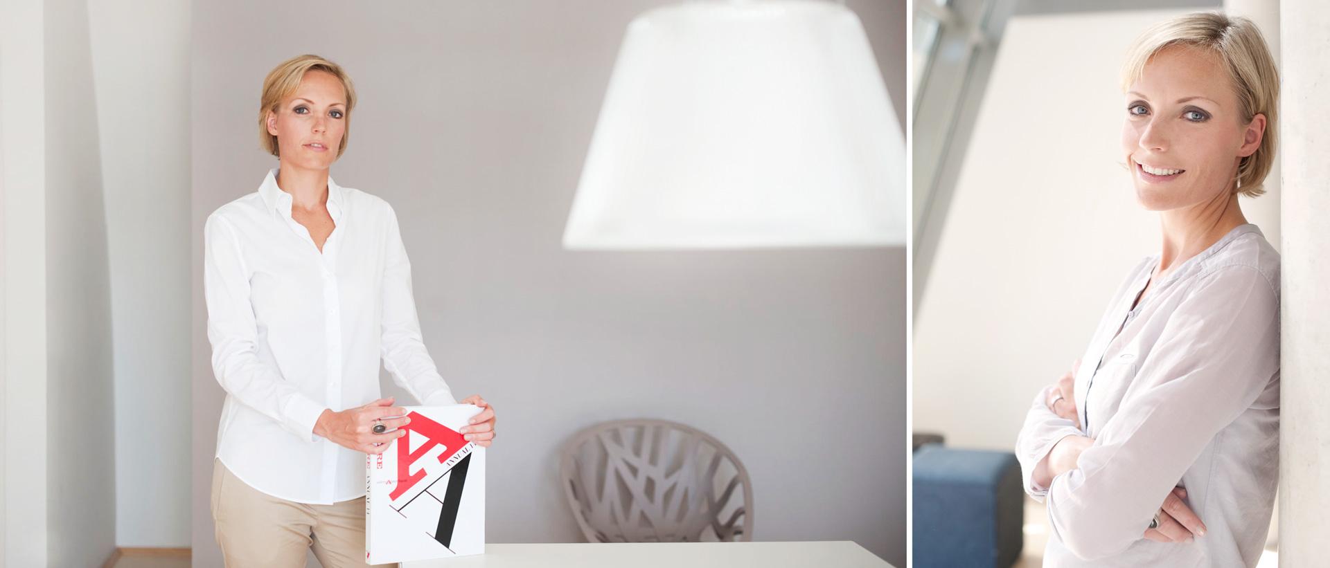 Für die Innenarchitektin Silke Ulbrich-Käferlein produzierte Reingold ein Fotoshooting