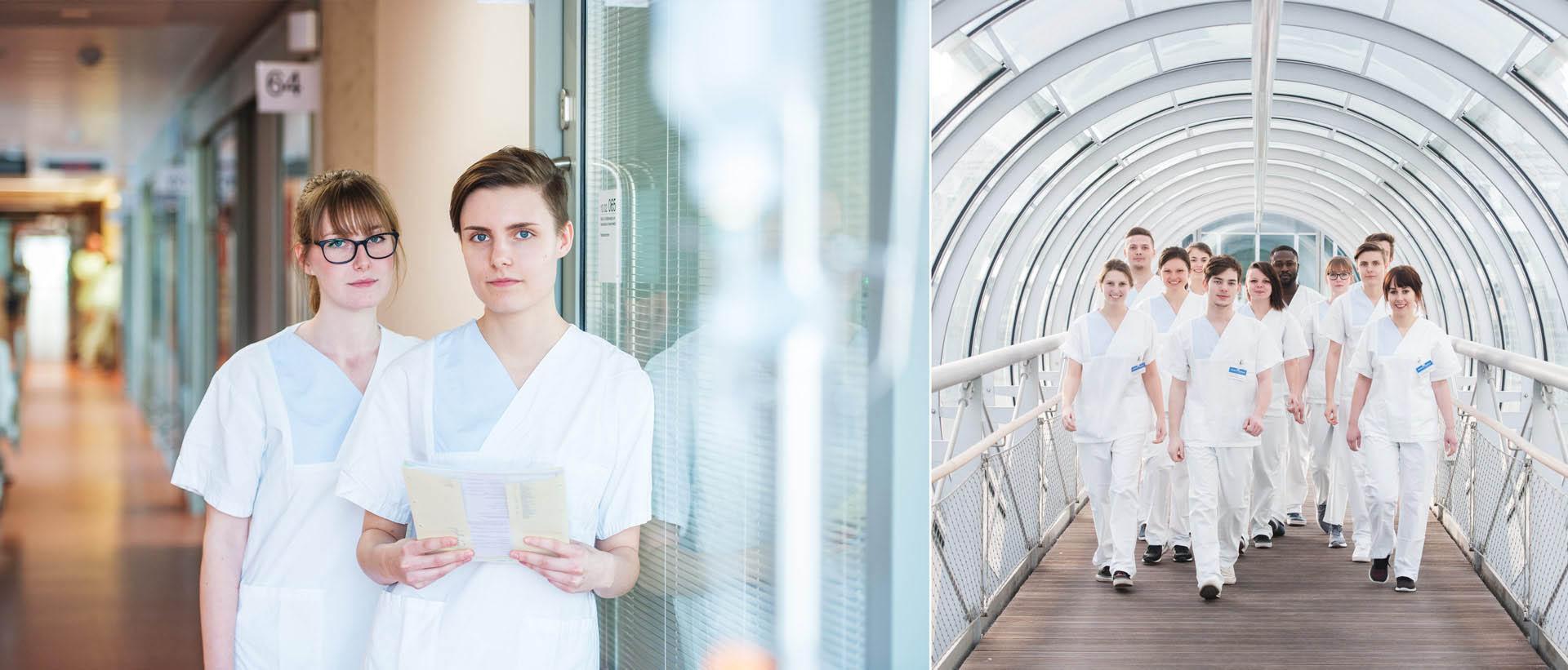 Ausbildungskampagne Klinikum Nürnberg - konzipiert und realisiert von REINGOLD