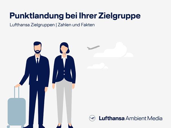 Für Lufthansa Ambient Media entwickelt Reingold didaktische Zielgruppenübersichten