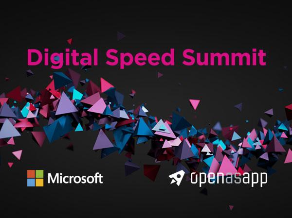Digital Speed Summit mit Open as App - Reingold entwicklelt Event-Branding